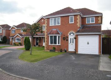 Thumbnail 4 bed detached house for sale in Grizedale Close, Grantham