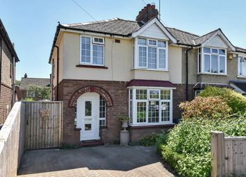 Thumbnail 3 bed semi-detached house for sale in Swinbourne Road, Oxford