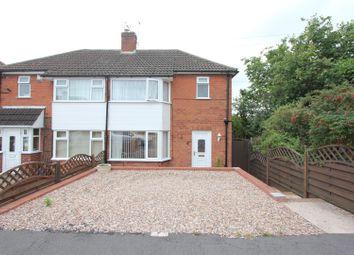 Thumbnail 2 bedroom semi-detached house for sale in Sandringham Avenue, Earl Shilton, Leicester