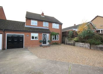 Thumbnail 4 bed link-detached house for sale in Ashtree Road, New Costessey, Norwich