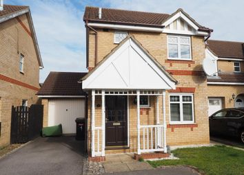 Thumbnail 3 bed detached house to rent in Cleeve Way, Wellingborough