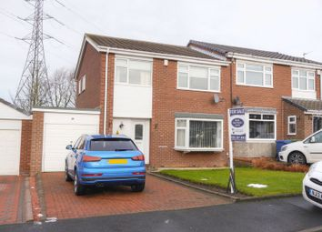 Thumbnail 3 bed semi-detached house for sale in Ladybank, Chapel Park, Newcastle Upon Tyne