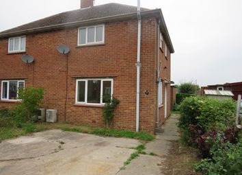 Thumbnail 2 bed semi-detached house to rent in Sir John Leman Road, Beccles