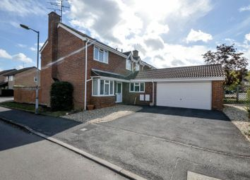 Thumbnail 4 bed detached house for sale in Audley Close, Grange Park, Swindon
