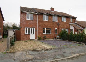 Thumbnail 4 bed semi-detached house for sale in Walden Close, Doddington, March