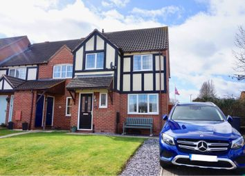 Thumbnail 3 bed end terrace house for sale in Dunlin Close, Quedgeley, Gloucester