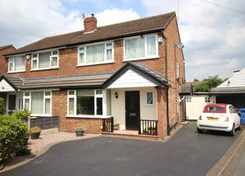 Thumbnail 3 bed semi-detached house for sale in Earle Road, Bramhall, Stockport