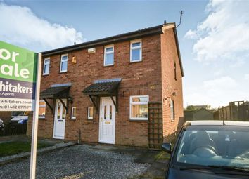 Thumbnail 2 bedroom semi-detached house for sale in Greenhow Close, Howdale Road, Hull