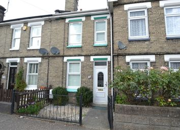 Thumbnail 2 bed terraced house to rent in Bergholt Road, Colchester, Essex