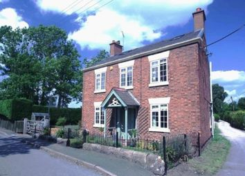 Thumbnail 4 bed detached house for sale in Station Road, Calveley, Tarporley, Cheshire