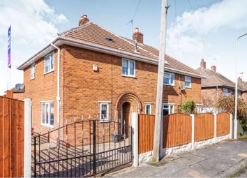 Thumbnail 3 bed semi-detached house for sale in Hammerwater Drive, Warsop