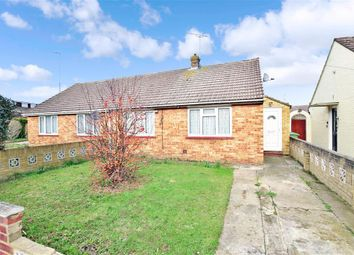 Thumbnail 2 bed semi-detached bungalow for sale in Roberts Close, Sittingbourne, Kent