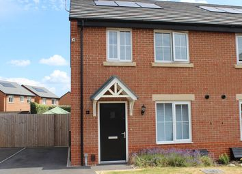 Thumbnail 3 bed semi-detached house for sale in Oxbridge Road, Cottam, Preston