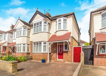Thumbnail 3 bed semi-detached house for sale in First Avenue, Gillingham, Kent, .