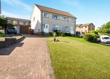 Thumbnail 3 bed semi-detached house for sale in Rowan Drive, Dumbarton