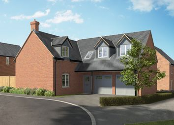 "Thumbnail 3 bed terraced house for sale in ""The Aldwincle"" at Hill Top Close, Market Harborough"