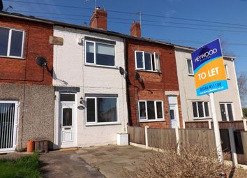 Thumbnail 2 bed terraced house to rent in Crown Street, Clowne, Chesterfield