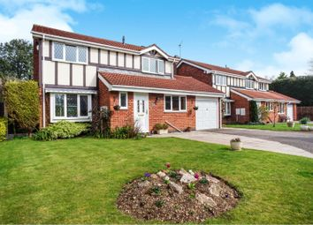Thumbnail 4 bed detached house for sale in Selwyn Close, Alrewas, Burton-On-Trent