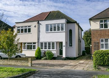 Thumbnail 3 bed semi-detached house for sale in Chipstead Way, Banstead