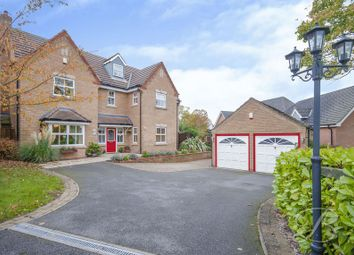 Thumbnail 6 bed detached house for sale in Paddock Close, Mansfield