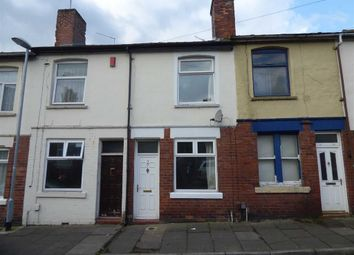 Thumbnail 2 bed terraced house for sale in Davis Street, Shelton, Stoke-On-Trent