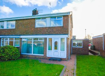 Thumbnail 3 bed semi-detached house for sale in Gloucester Way, Fellgate, Jarrow