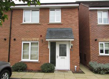 Thumbnail 3 bedroom semi-detached house to rent in Levett Grange, Rugeley