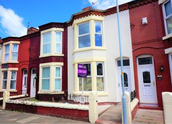 Thumbnail 3 bed terraced house for sale in Eaton Avenue, Liverpool