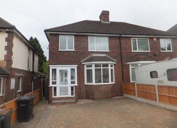 Thumbnail 3 bed semi-detached house for sale in Tower Road, Four Oaks, Sutton Coldfield