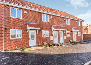 Thumbnail 2 bed terraced house for sale in Shotesham Road, Poringland, Norwich