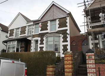 Thumbnail 3 bed semi-detached house for sale in The Parade, Porth