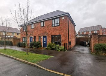 Thumbnail 3 bed semi-detached house to rent in Cranesbill Close, Salford