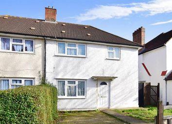 Thumbnail 3 bedroom semi-detached house for sale in Crowley Crescent, Croydon, Surrey