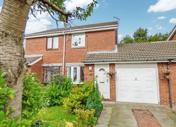 Thumbnail 2 bedroom terraced house for sale in Castle Way, Pegswood, Morpeth