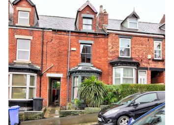 Thumbnail 4 bed terraced house for sale in Cowlishaw Road, Hunters Bar, Sheffield