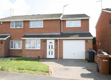 Thumbnail 4 bed semi-detached house for sale in Bosworth Close, Hinckley