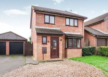 Thumbnail 3 bed detached house for sale in Kingswood Avenue, Taverham, Norwich