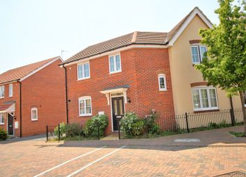 Thumbnail 3 bedroom semi-detached house for sale in Wheatcroft Way, Swindon