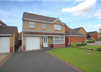 Thumbnail 4 bed detached house for sale in Rowley Croft, South Elmsall, Pontefract, West Yorkshire