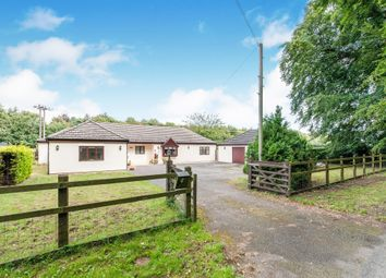 Thumbnail Detached bungalow for sale in Methwold Road, Cranwich, Thetford