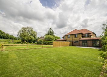 Thumbnail 4 bed semi-detached house for sale in Cross Keys Road, South Stoke, Reading