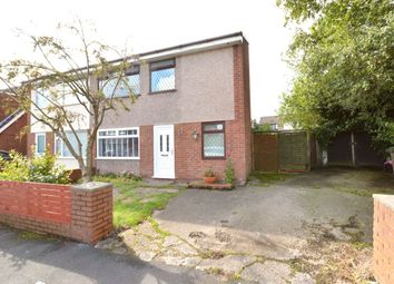 Thumbnail 4 bed semi-detached house for sale in Hornby Crescent, Clock Face, St. Helens