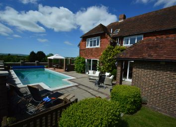 Thumbnail 4 bed detached house for sale in Gun Hill, Heathfield