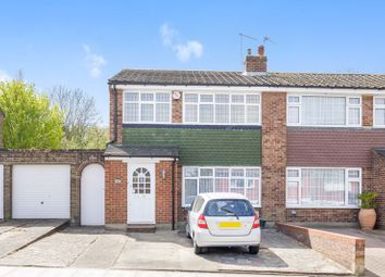 Thumbnail 3 bed semi-detached house for sale in Tyron Way, Sidcup