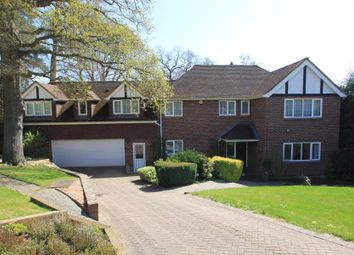 Thumbnail 6 bed detached house to rent in Hurst Close, Hook Heath, Woking
