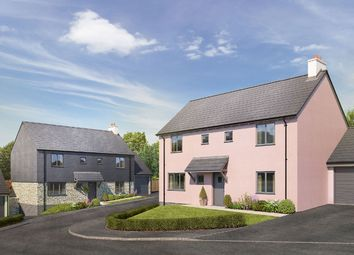 "Thumbnail 4 bedroom detached house for sale in ""The Raglan"" at Blackawton, Totnes"