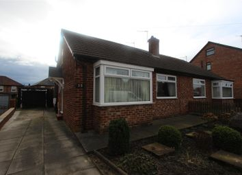 Thumbnail 2 bed semi-detached bungalow for sale in Cornwall Avenue, Darlington