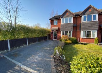 Thumbnail 3 bed semi-detached house for sale in Millport Close, Fearnhead, Warrington
