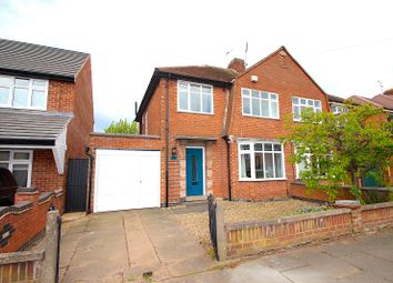 Thumbnail 3 bed semi-detached house for sale in Highgate Drive, Leicester