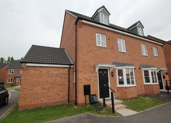 Thumbnail 4 bed semi-detached house for sale in Slate Drive, Burbage, Hinckley